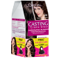 Buy L'Oreal Paris Casting Creme Gloss Hair Color - 500 Medium Brown With Salon Cape Worth Rs.299 Free - Nykaa