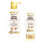 Buy Garnier Ultra Blends Soy Milk & Almonds Shampoo (640ml) + Conditioner (175ml) - Nykaa