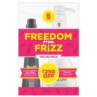 BBLUNT Climate Control Leave In Cream + Shampoo For Normal To Dry Hair Combi Pack Rs.250 Off