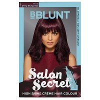 BBLUNT Salon Secret High Shine Creme Hair Colour Wine Deep Burgundy 4.20