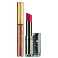 Lakme Jewel Sindoor - Maroon + Lakme Absolute Sculpt Matte Lipstick - Pink Passion
