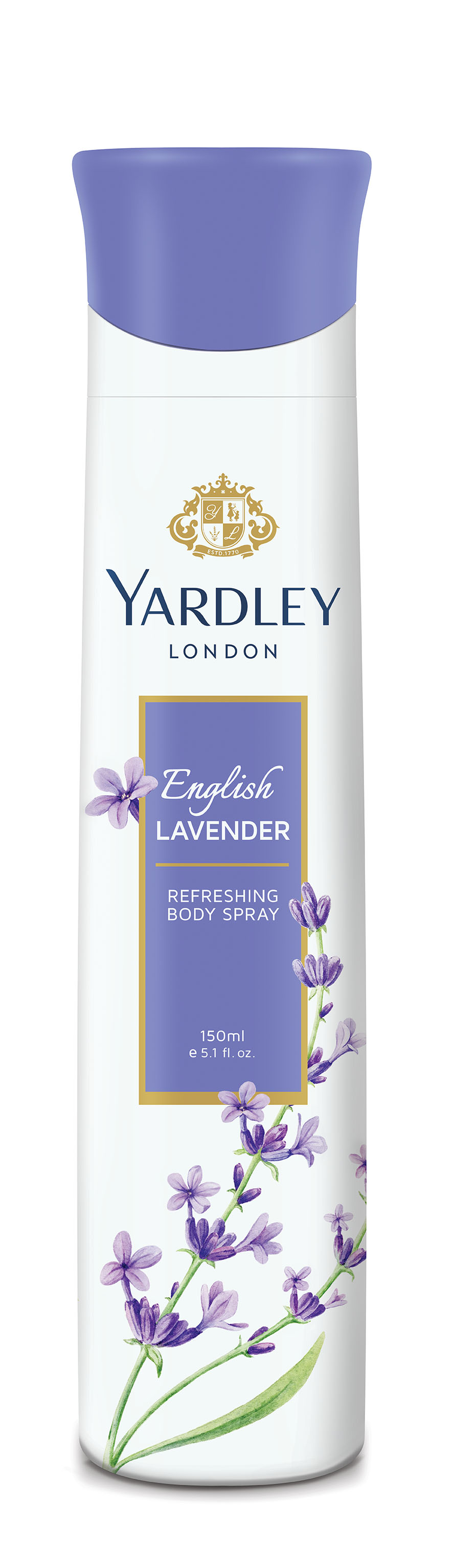 Yardley English Lavender Deodorant Spray  available at Nykaa for Rs.143