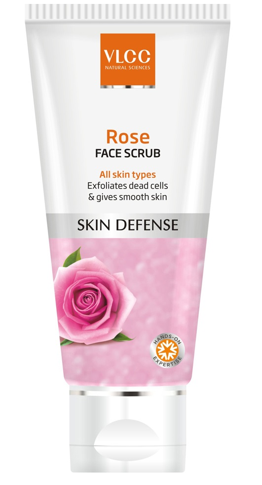 VLCC Rose Face Scrub, 80g