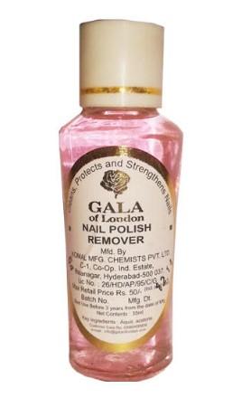 Gala Of London Nail Polish Remover  available at Nykaa for Rs.50