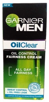 Garnier Men Oil Clear Oil Control Fairness Cream  available at Nykaa for Rs.90