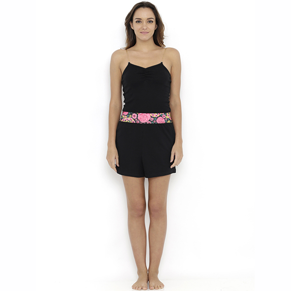 Heart 2 Heart Aster Shorts - Black  available at Nykaa for Rs.459