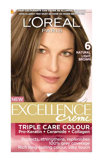 L'Oreal Paris Excellence Creme Hair Color - 6A Light Brown  available at Nykaa for Rs.480