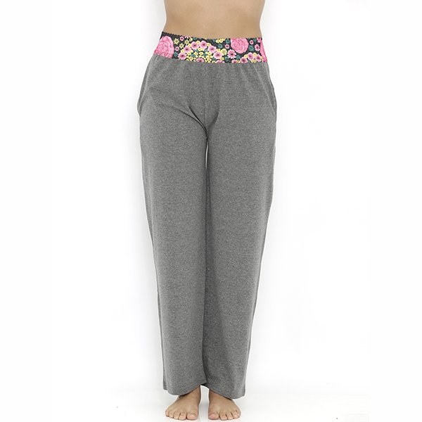 Heart 2 Heart Aster Pajama - Grey Melange  available at Nykaa for Rs.689