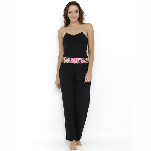 Heart 2 Heart Aster Pajama - Black  available at Nykaa for Rs.689