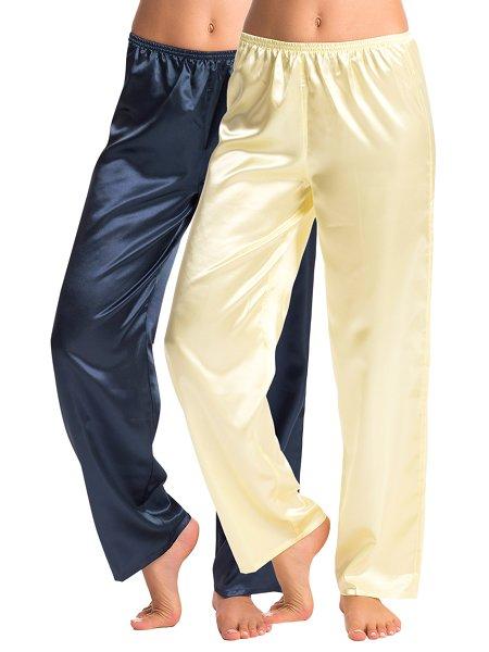 PrettySecrets Multi Color Cozy-Fit Pajamas (Pack of 2) 43