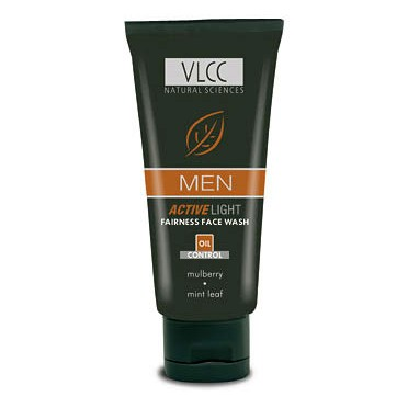 VLCC Men Active Light Face Wash  available at Nykaa for Rs.109