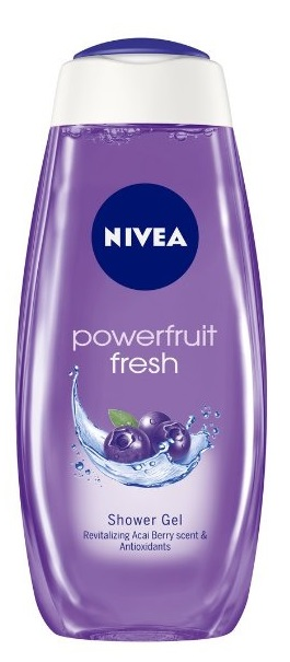 Nivea Powerfruit Fresh Shower Gel  available at Nykaa for Rs.166