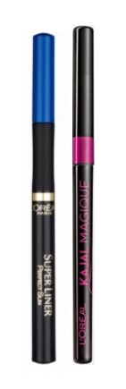 L'Oreal Paris Super Liner Perfect Slim - Blue 6G + Free Kajal Magique  available at Nykaa for Rs.725