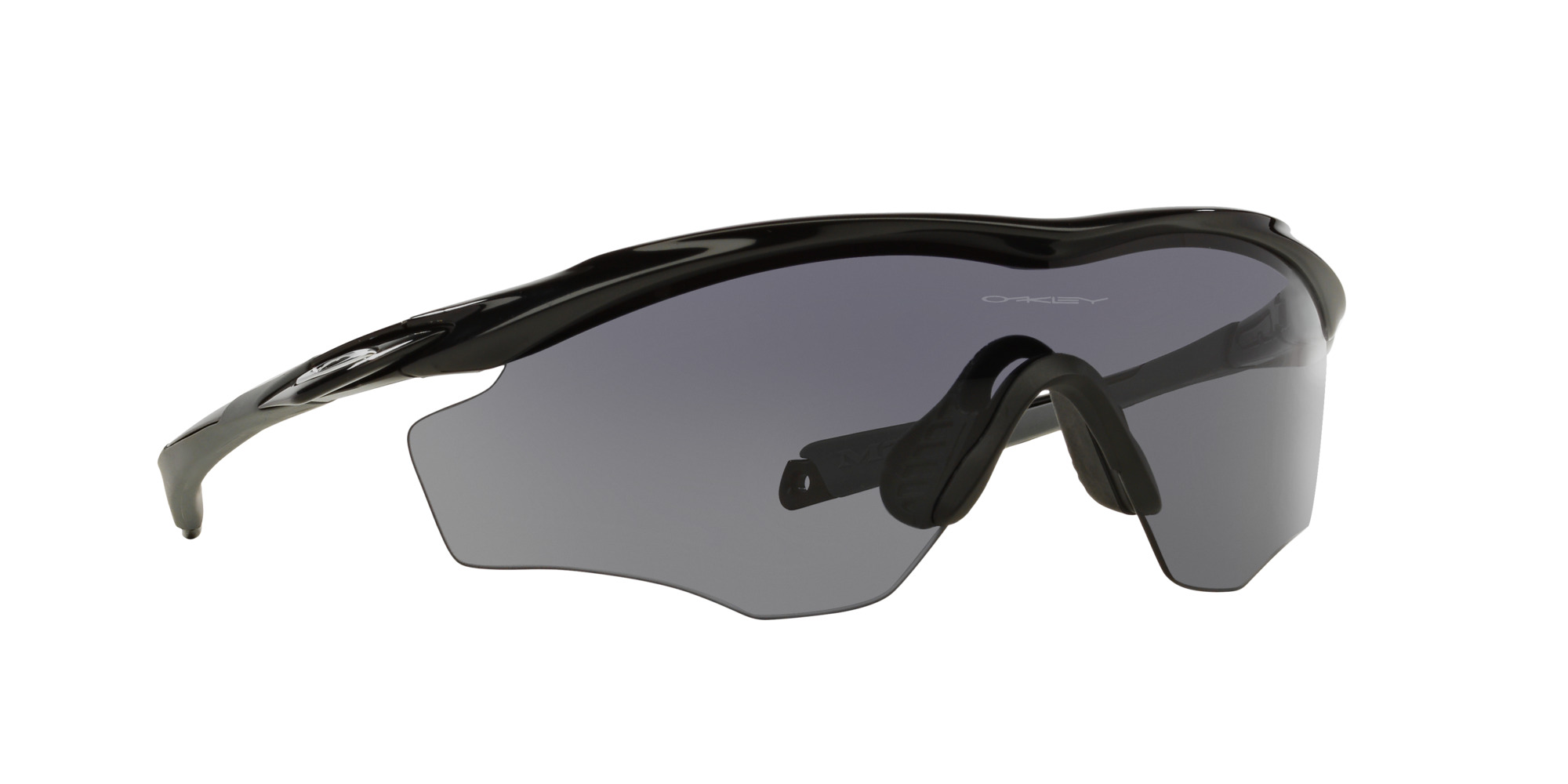 Oakley Grey Wrap Around Sunglasses - oo9343-09-0145