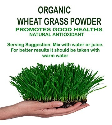 NutraVigour Organic Wheat Grass Powder  available at Nykaa for Rs.389