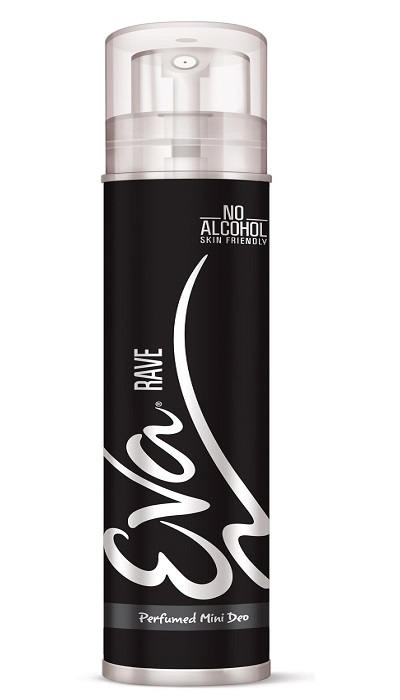 Eva Mini Rave deodorant  available at Nykaa for Rs.50