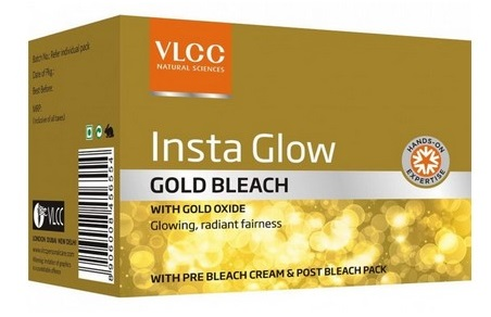 VLCC Insta Glow Gold Bleach  available at Nykaa for Rs.60