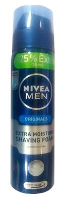 Nivea Men Originals Extra Moisture Shaving Foam + 25% Extra  available at Nykaa for Rs.159