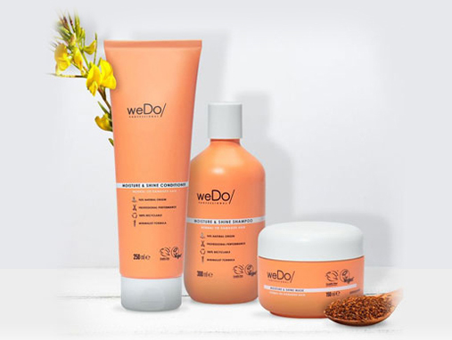 WEDO PROFESSIONAL'S ECO-ETHICAL FORMULAS ARE CLEAN, MINIMAL AND RELIABLE