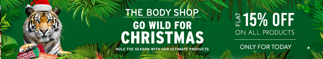 Nykaa: Flat 15% off on all The Body Shop Products