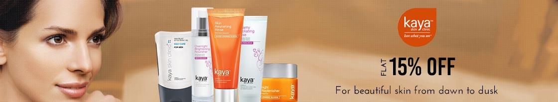 Nykaa: Flat 15% off on Kaya Products
