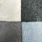 Fog & Mist - Soft Pearly White/Pale Icy Blue/Charcoal Grey/Sparkling Black