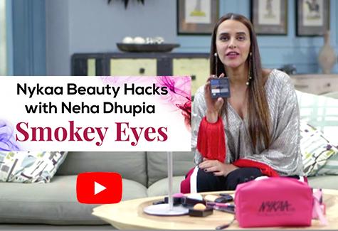 Nykaa Beauty Hacks with Neha Dhupia - Smokey Eyes