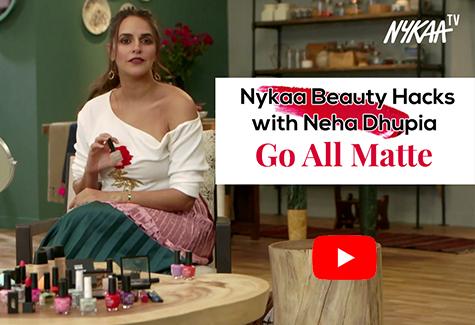 Nykaa Beauty Hacks with Neha Dhupia - Matte Lip and Tips