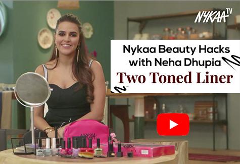 Nykaa Beauty Hacks with Neha Dhupia - Two Toned Liner