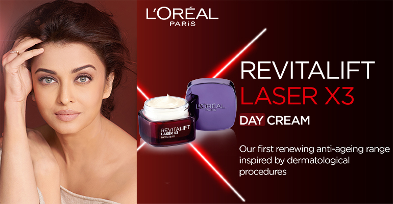 L'Oreal Paris Revitalift Laser X3 Day Cream(50ml)