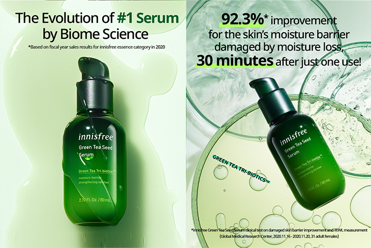 The evolution of number one serum by biome science.