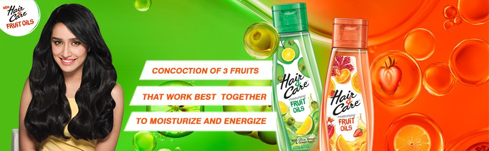 Hair Care Moistrurising Fruit Oils With Olive Mosambi Green Apple With 100ml Free At Nykaa Com