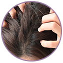 Coconut milk soothes the scalp and adds glossiness to the strands