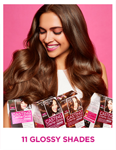 L\'Oreal Paris Casting Creme Gloss Hair Color - 323 Sonam\'s Dark Chocolate  (Save Rs.80)