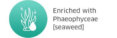 Enriched with Phaeophyceae [seaweed]