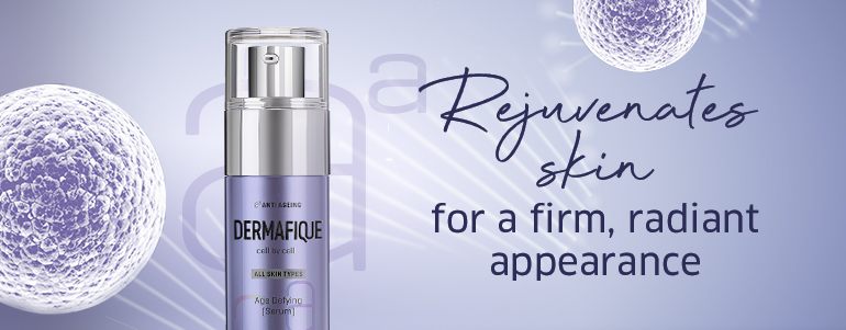 Rejuvinates skin for a firm, radiant appearance