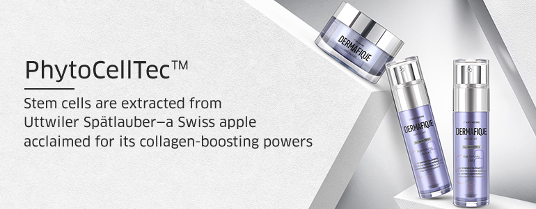 PhytoCellTec, Stem cells are extracted from Uttwiler Spatlauber-a swiss apple acclaimed for its collagen-boosting powers