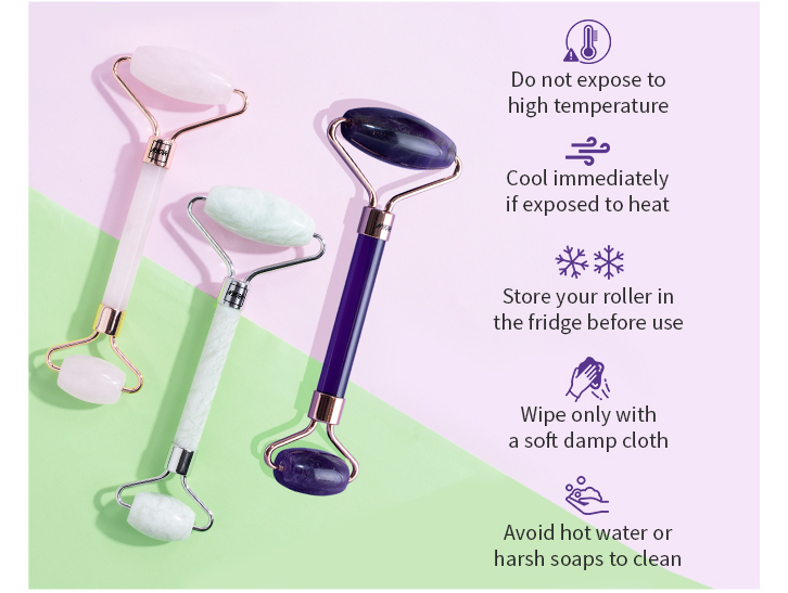 take care of your facial roller