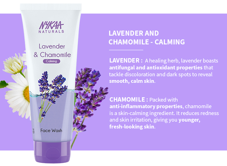 LAVENDER AND CHAMOMILE - CALMING
