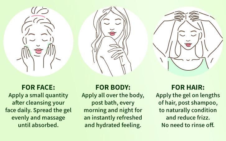one gel, multiple benefits
