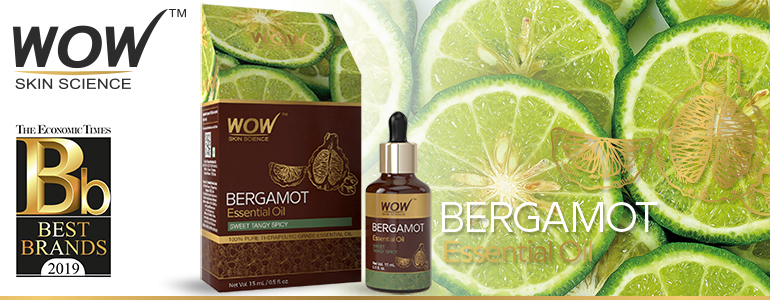 WOW Skin Science Bergamot Essential Oil