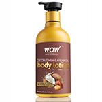 WOW Skin Science Coconut Milk & Argan Oil Medium Hydration Body Lotion
