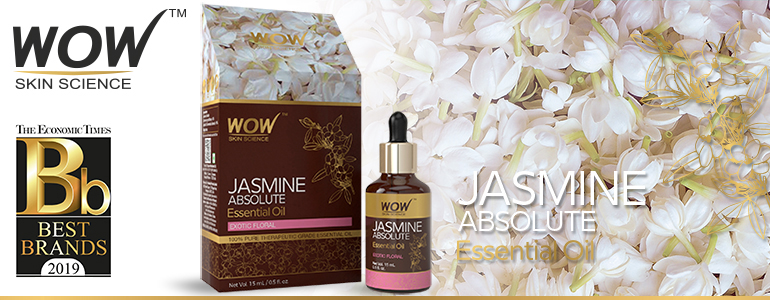 WOW Skin Science Jasmine Absolute Essential Oil