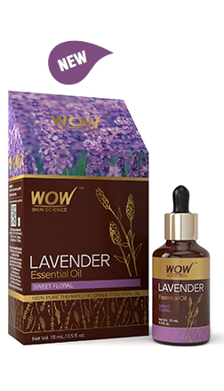 WOW Skin Science Lavender Essential Oil