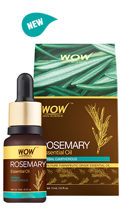 WOW Skin Science Rosemary Essential Oil