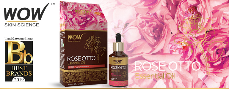 WOW Skin Science Rose Otto Essential Oil