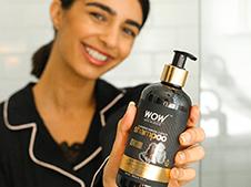 WOW Skin Science Charcoal & Keratin Shampoo step3