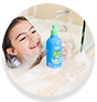 WOW Skin Science Kids Green Apple 3 in 1 Tip to Toe Wash - Shampoo + Conditioner + Bodywash for Cleaner Hair