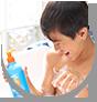 WOW Skin Science Kids Orange 3 in 1 Tip to Toe Wash - Shampoo + Conditioner + Bodywash for Tear-free Hypoallergenic Formula