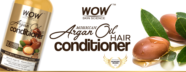 WOW Skin Science Moroccan Argan Oil Conditioner banner image